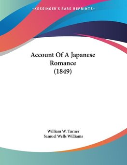 Account Of A Japanese Romance (1849)