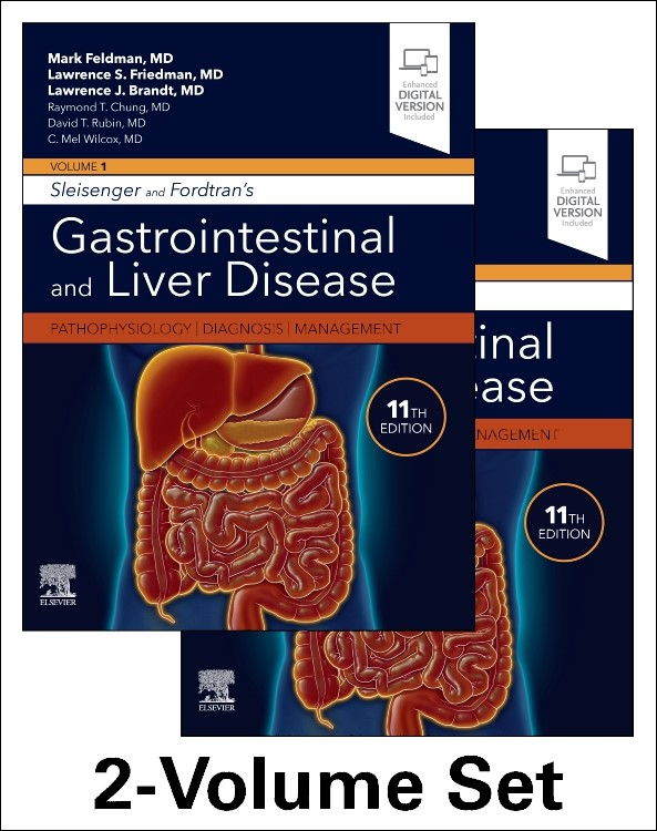 Sleisenger and Fordtran's Gastrointestinal and Liver Disease- 2 Volume Set, 11th Edition