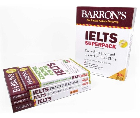 Barron's IELTS Superpack